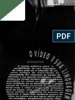 O vídeo e sua linguagem - Arlindo Machado