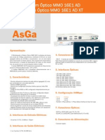 Data Sheets Acesso Familia PDH MMO16E1Ad MMO16E1Ad PT