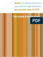 Advancing Sexual Reproductive Health Human Rights Hiv French