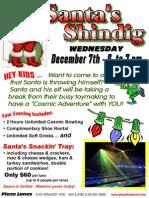 Santa Shindig