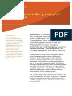 Leadership Transformation Powers Growth