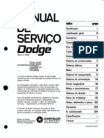 Dodge DART BR Manual de Serviço 0-8