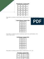 Valores comerciais de componentes eletrônicos