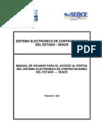 Manual Seace