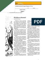 Teste de Avaliação Sumativa de Língua Portuguesa 8º3