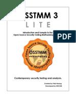 Osstmm 3.0 Lite