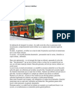 Maniere in Autobuz
