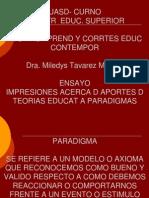 Ensayo Ricardo Estrella Paradigm As de Las Teorias Educativas