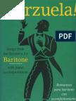 Zarzuela para barítono