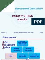 ICAO SMS M 09 – SMS operation (R013) 09 (E)