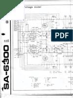 SA 6300 Amplificador