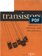 Transistors - Their Practical Application in Television, Radio and Electronics, 2nd Edition (1954)