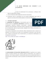 1.RIESGOS PARA LA SALUD DERIVADOS DEL CONSUMO Y LA MANIPULACIÓN DE ALIMENTOS.