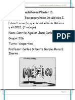 Libro de La Mafia de Mexico Sintesis