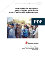 Children Citizenship and Governance - Manual