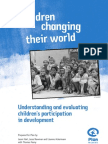 Evaluating Child Participation in-Dev