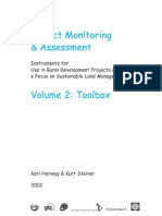 Impact Monitoring & Assessment Vol 2 Toolbox