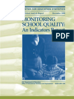 Monitoring School Quality