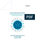 Social Analysis Source Book Aug 6