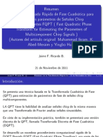 Exposición Fast Quadratic Phase Transform