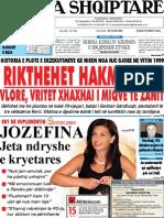 Gazeta Shqiptare 10.8