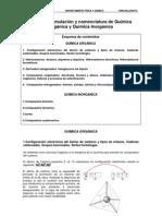 Tema 1 Formulación y nomenclatura de Química Orgánica e Inorgánica