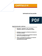 Enfoques de La Evaluación Capitulo VI