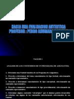 Presentación Pedro Ahumada