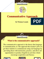 Communicative Approach Didactics