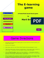 Power Point Based Game