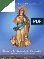 PROGRAMA DE ACTOS  INMACULADA 2011