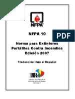 10. NFPA 10 (2007) Ex Tint Ores Port a Tiles Contra Incendios