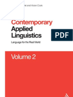Contemporary Applied Linguistics v.2