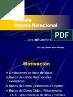 Modelo Objeto Relacional SNM