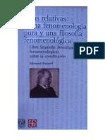 Edmund Husserl - Ideas II