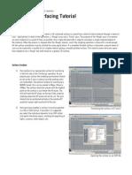 Mastercam Tutorial Surface Modeling