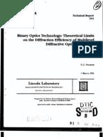 Diffractive Optical Elements