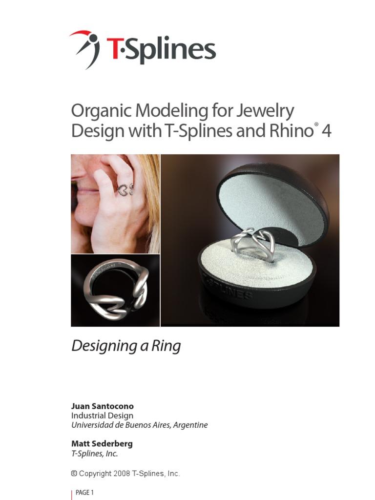T-SplineRing | 3 D Modeling | Mathematics