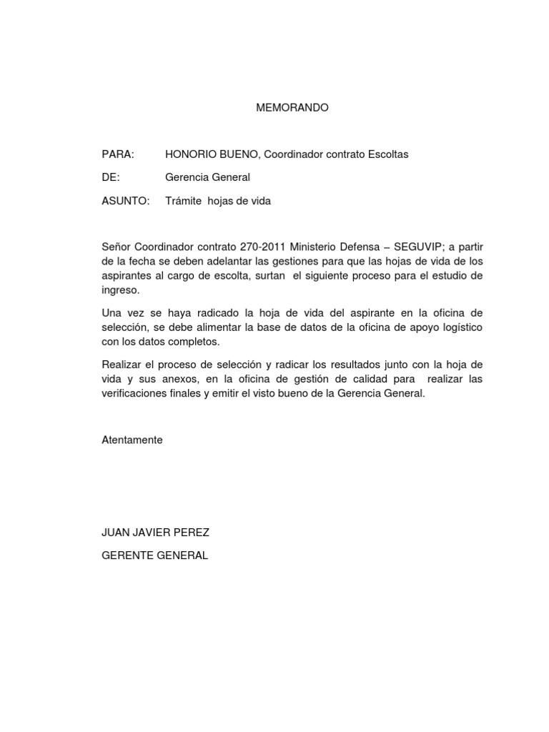 ejemplo de memo Famoso Plantilla De Memo De Personal Adorno - Colección De ...