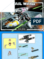 LEGO Y-Wing Attack Starfighter Instruction Manual (10134)