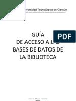 Gua Acceso a Bases de Datos