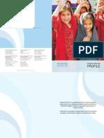 Hashoo Foundation Profile 2011