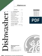 Dishwasher GSD5500 Users Manual