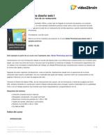 Adobe Photoshop Para Diseno Web i