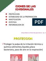 Funciones y Requerimientos de Las Restauraciones Provision Ales Zorayda Navarrete