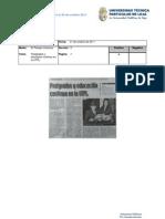 Informe de prensa del 21 al 28 de octubre de 2011