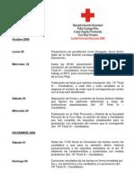 Cronograma Proceso Electoral Provincial 2008
