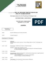 Brussels Conference Agenda