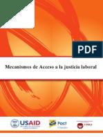 Investigacion_Mecanismos de Acceso a Justicia Laboral en Nicaragua