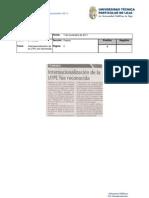 Informe de Prensa Del 11 Al 17 de Noviembre 2011